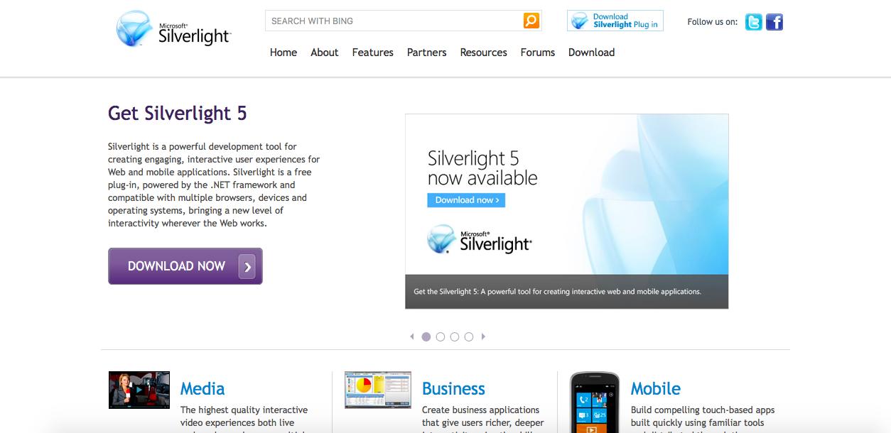 silverlightが何なのかとインストールの仕方 useful lab